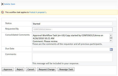 Understand approval workflows in SharePoint Server - SharePoint