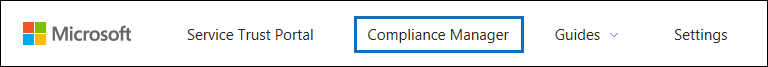 Click Compliance Manager to open it