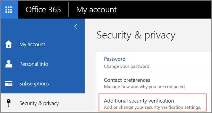 How to Connect to Office 365 Email with a New Device When Multi-Factor Authentication is Turned On