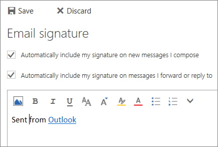 Screenshot of signature screen.