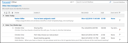 You can add additional columns to your list view.