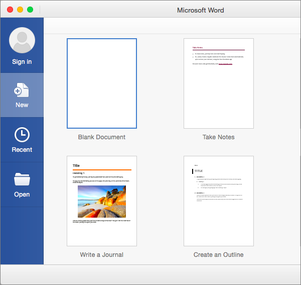 doubleclick rich media templates - microsoft office tutorials create a new document by using