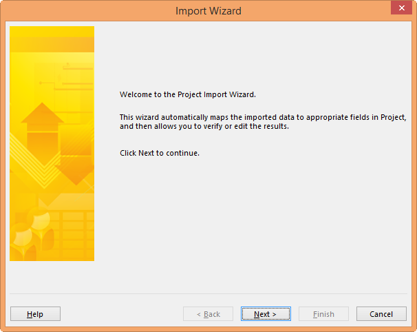 Project Import Wizard