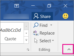 Customize the ribbon in Office - Office Support