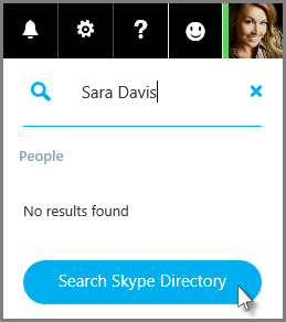 Click Search Skype Directory