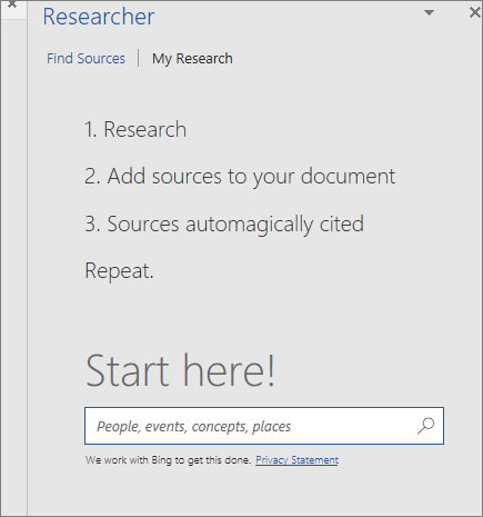 Word Researcher UI