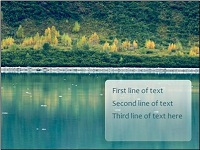 Custom animation effects: descending text levels