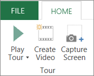 3D Maps Play Tour option