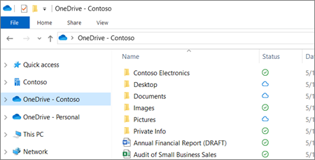 Sync files with the OneDrive sync client in Windows - Office