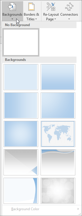 Visio Backgrounds