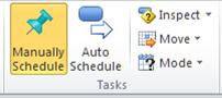 Task tab, Tasks group