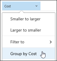 Document library group by view in Office 365