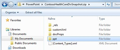 extract files or objects from a powerpoint 2010 file - powerpoint, Powerpoint templates