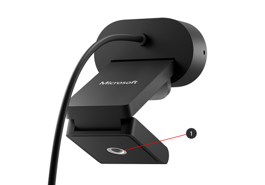 Tripod mount on Microsoft Modern Webcam
