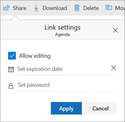 Share OneDrive files and folders - Office Support