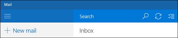 Search in Outlook Mail