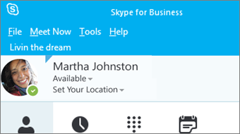 Gettings started with Skype for Business 2016