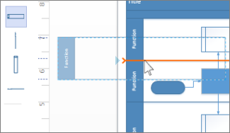 Add Swimlanes To A Flowchart Visio