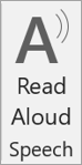 Read Aloud icon