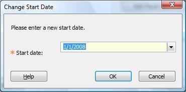 Change Start Date