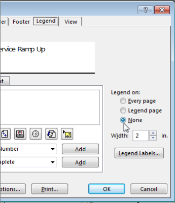 Option to not print the legend