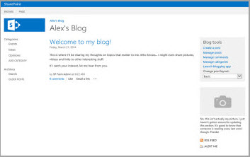 Blog Site Template