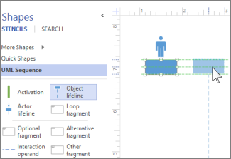 create a uml sequence diagram   visiouml sequence lifeline