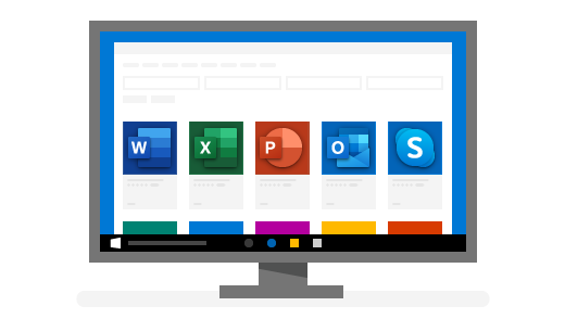 A PC displaying top Windows apps
