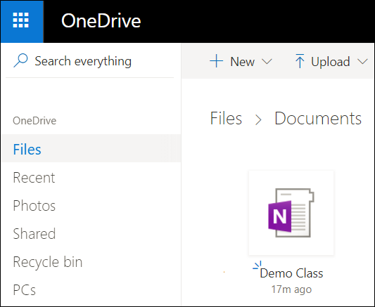 Microsoft account OneDrive documents folder
