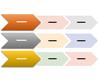 Chevron List SmartArt graphic layout