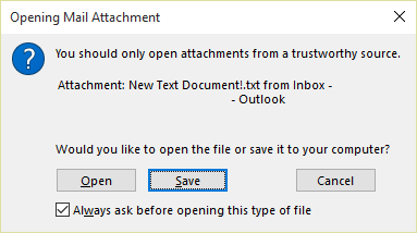 Attachment window
