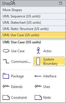 Select System Boundary