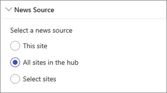 Select a news source