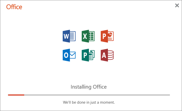 Download and install or reinstall Office 365 or Office 2019