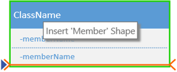 Add a new member by right-clicking an existing member and choosing the option to insert a member.