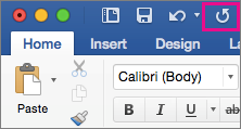The Repeat icon is highlighted on the ribbon.