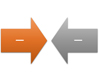 Converging Arrows SmartArt graphic layout