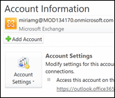 Add a new email account to Outlook 2010