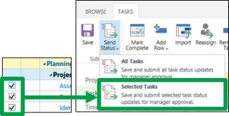 Selected Tasks