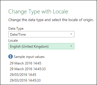 "Power Query - Hints for ""sample input values"" in the ""Change Type with Locale"" dialog"
