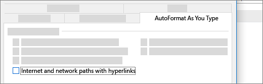 Internet and network paths with hyperlinks