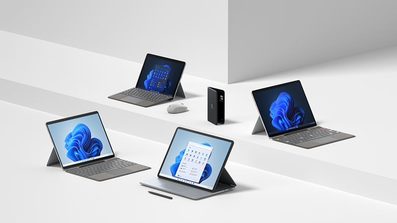 Surface family 2021 holiday