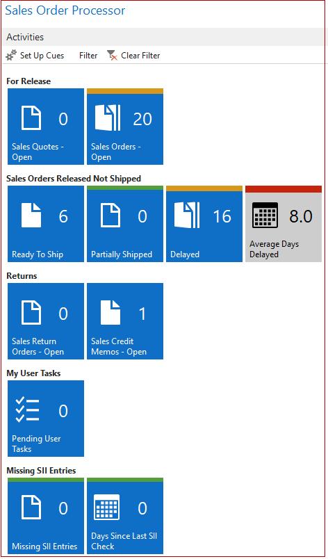 Sales order processor