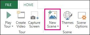 Add scene