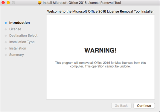 How to remove Office license files on a Mac - Office Support
