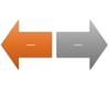 Diverging Arrows SmartArt graphic layout