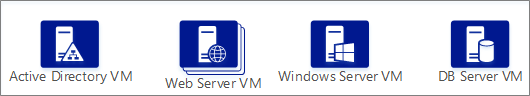 VMs stencil shapes