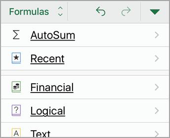 Select AutoSum