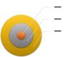 Basic Target SmartArt graphic layout