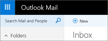 This is what the ribbon looks like in the new Outlook Mail.
